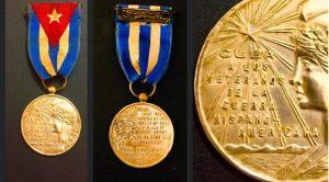 Medalla Cuba a los Veteranos de la Guerra Hispano-Americana