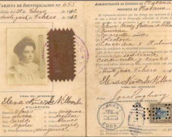 TARJETA DE IDENTIDAD POSTAL